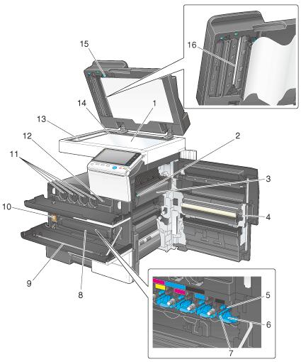 Cara kerja mesin fotocopy maksimal jika komponen bekerja dengan baik.