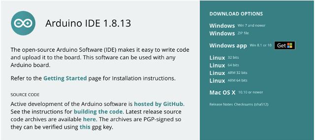Mengunduh Arduino IDE