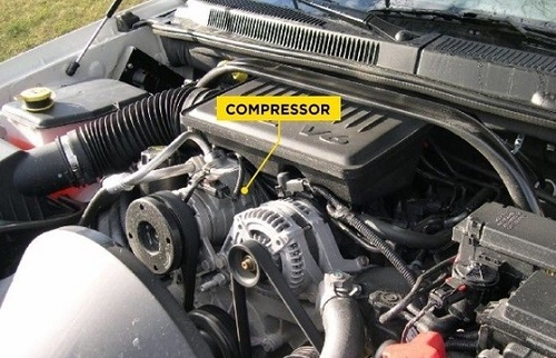 kompresor AC mobil