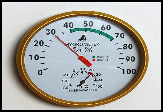 Mengukur tingkat humiditas