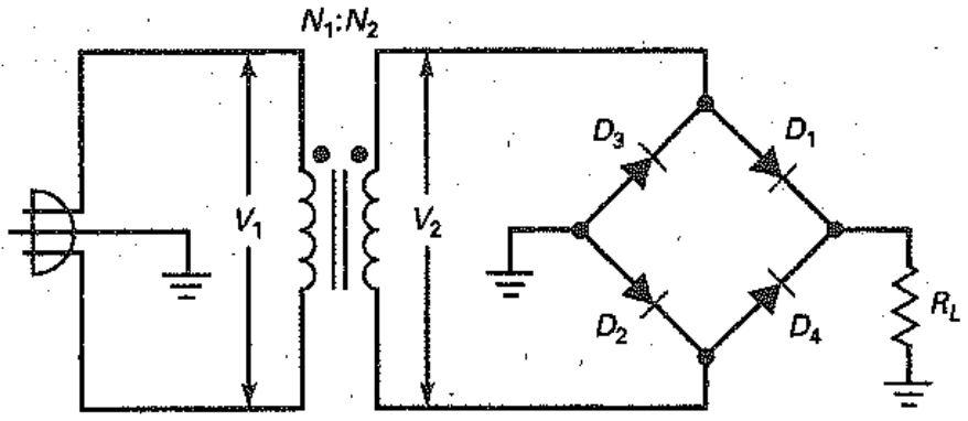 Rangkaian dioda bridge