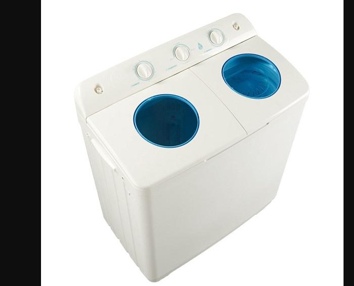 Ukuran mesin cuci dua tabung
