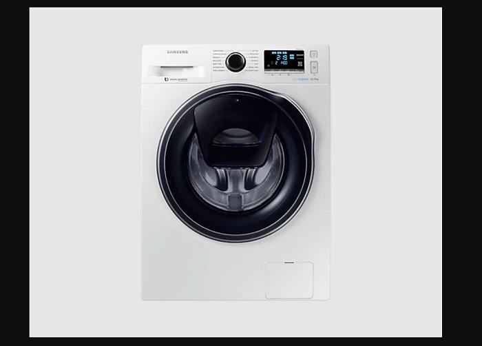 ukuran mesin cuci front loading