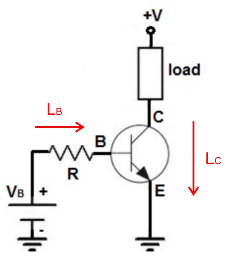 rangkaian bias transistor NPN