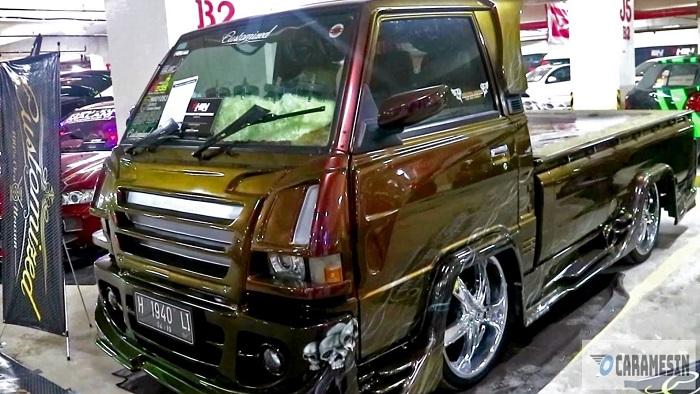 Velg besar dan cepet pada Mitsubishi L300 pick up