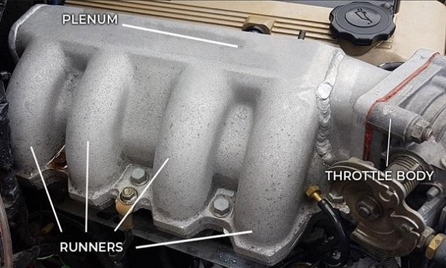 bagian intake manifold