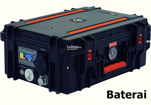 baterai genset