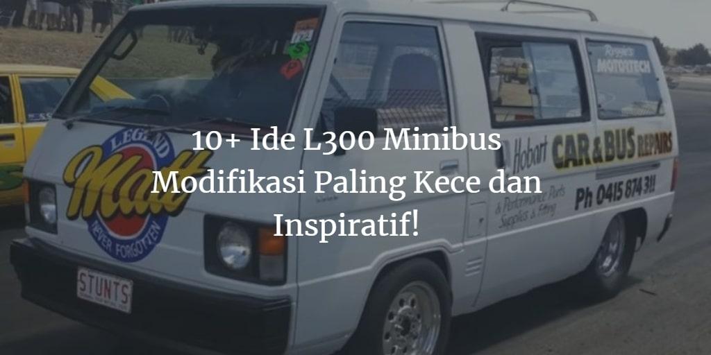 Ide L300 Minibus Modifikasi