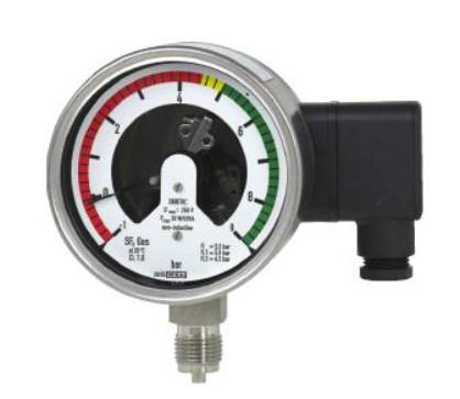 Gas density meter sebagai alat ukur massa jenis