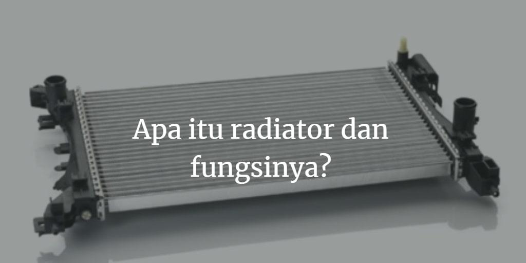 fungsi radiator adalah